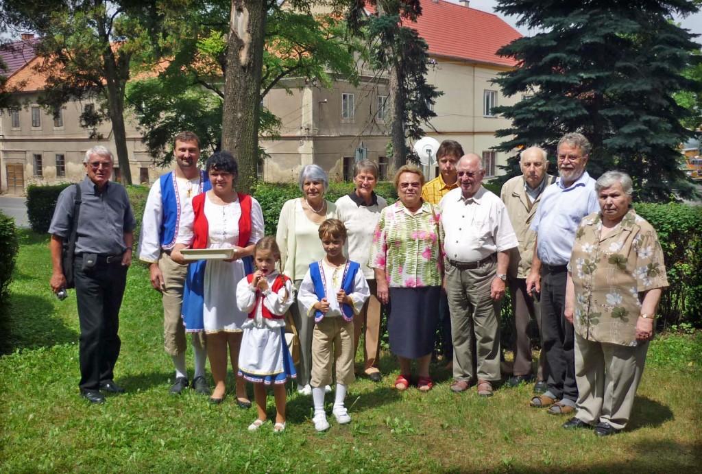 Deutsche und tschechische Teilnehmer an der Wallfahrt (Foto: Heidmar Schindler)